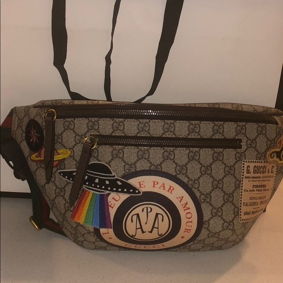 bc8c52f3e675 Gucci Bags | Courrier Gg Supreme Belt Bag | Poshmark